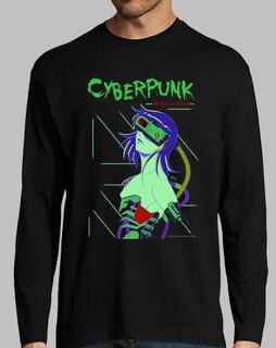 cyberpunk - lange manga männer