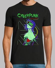 cyberpunk - manga mann