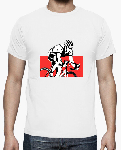 Cyclist siluet t-shirt