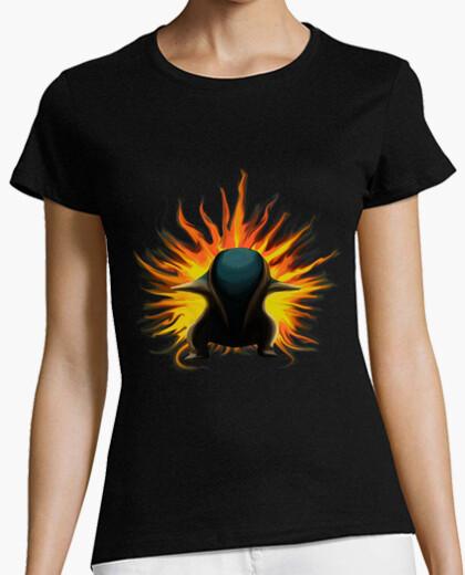 b0245b5c cyndaquil (woman) T-shirt - 834730 | Tostadora.com
