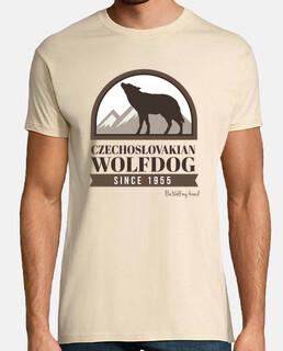 czechoslovakian wolfdog badge im / c boy