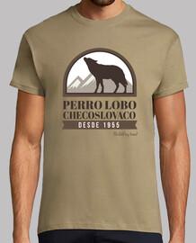 czechoslovakian wolfdog badge m / c boy