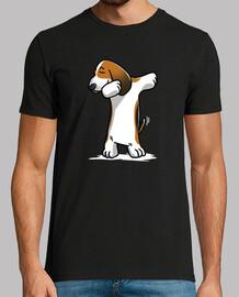 dab basset hound dog!