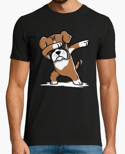 Tee-shirt dab chien boxer!