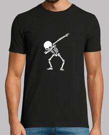 Dab spooky skeleton