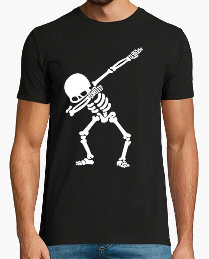 Tee-shirt dab squelette