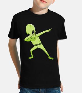 dabbing dance alien