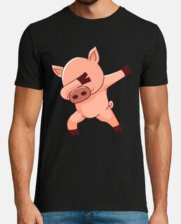 dabbing dance cerdo