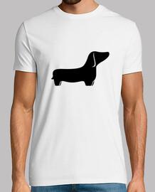 dachshund living black