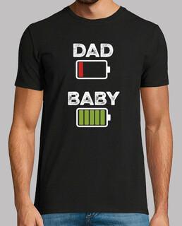 DAD BABY, color, negra