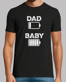 dad bebè nera
