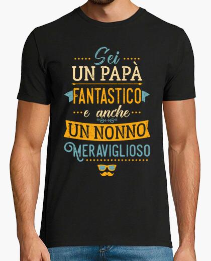 Dad meraviglioso fantastico nonno t-shirt
