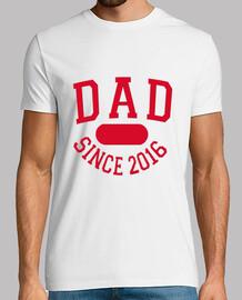 Dad Since 2016 hombre