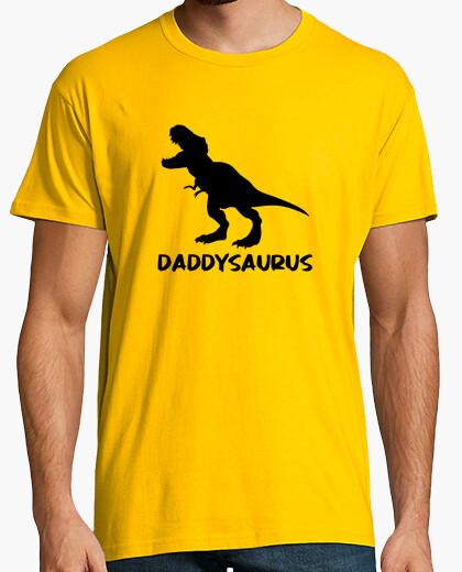 T-shirt Daddysaurus Dad Dinosaur Jurassik