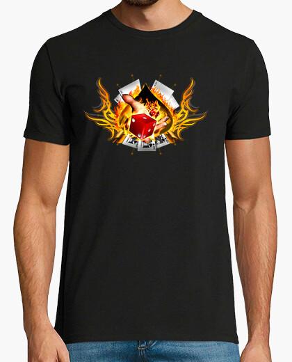 Camiseta Dado y poker