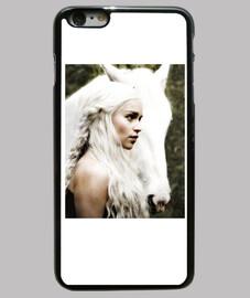 Daenerys Khalessi con caballo