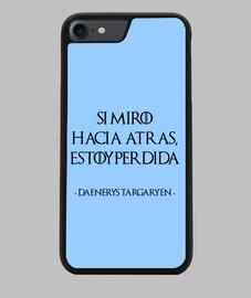 Daenerys Targaryen - Juego de Tronos N - Funda Iphone 7 y 8