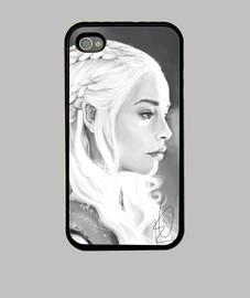 Daenerys Targaryen Iphone 4/4S - Juego de Tronos