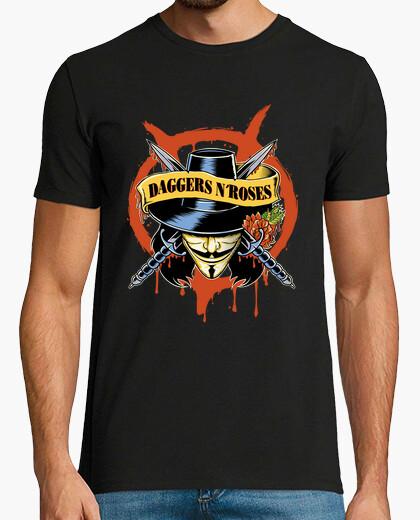 Camiseta Daggers n´Roses