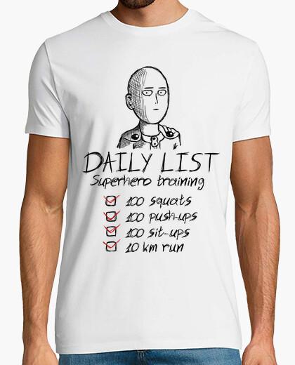 Camiseta Daily list