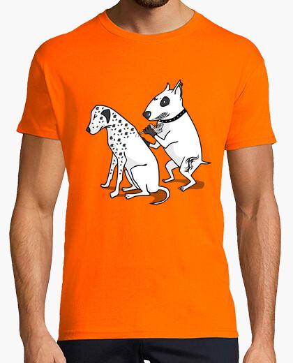 Dalmatian tattoo t-shirt