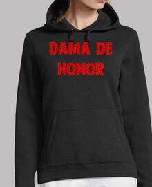 Dama de honor flamenca