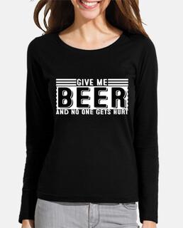 dame cerveza y no pasa nada