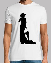 dame silhouette de l39époque