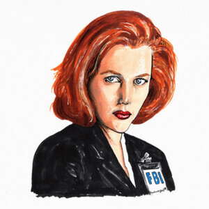 Camisetas Dana Scully