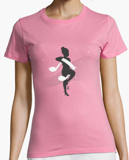Dancer with musical note t-shirt