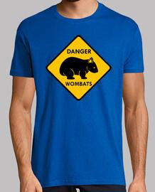Danger - Wombats