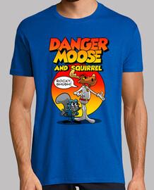 danger alce e scoiattolo