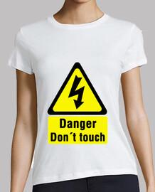 Danger don't touch