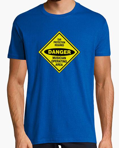 Camiseta DANGER MUSIC