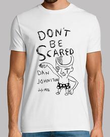 Daniel Johnston Art - Don´t be scared