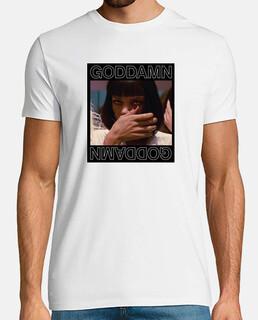 dannato pulp di fantascienza t-shirt