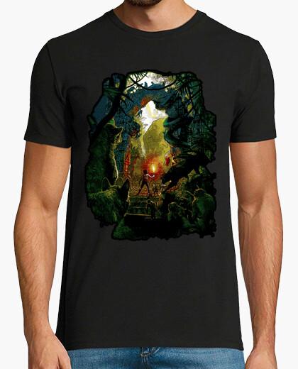 Tee-shirt dans la jungle