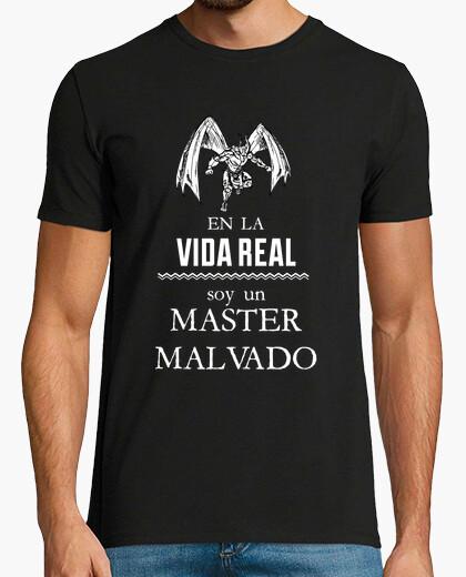 Tee-shirt dans la vraie vie suis un maître maléfique