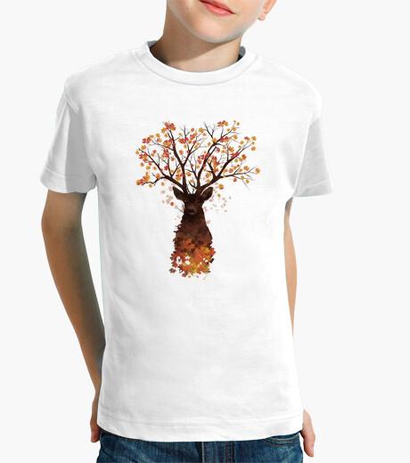 Vêtements enfant dans les bois