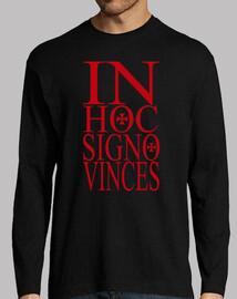 dans signo vinces hoc rouge
