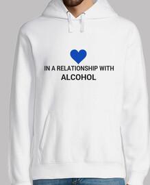 dans une relation avec l'alcool