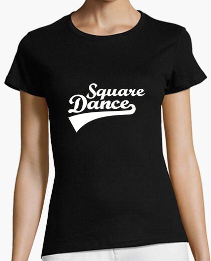 Tee-shirt danse carrée
