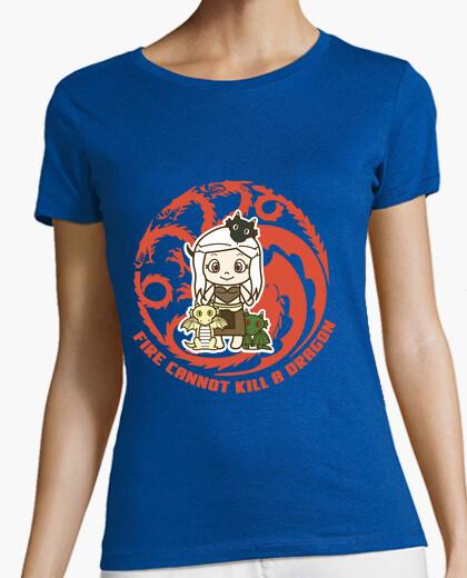 T-shirt dany e draghi. ragazza