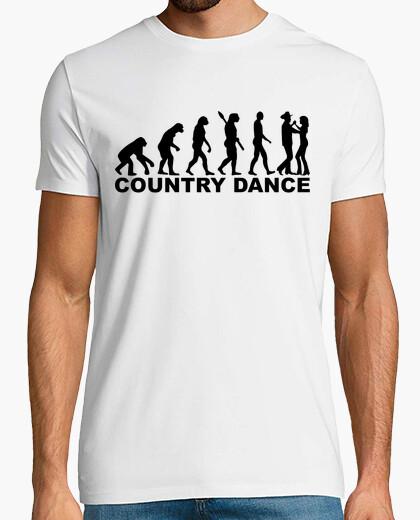 Camiseta danza país evolución