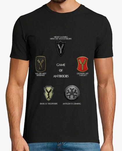 Tee-shirt dark 2 hmc jeu d'anticorps