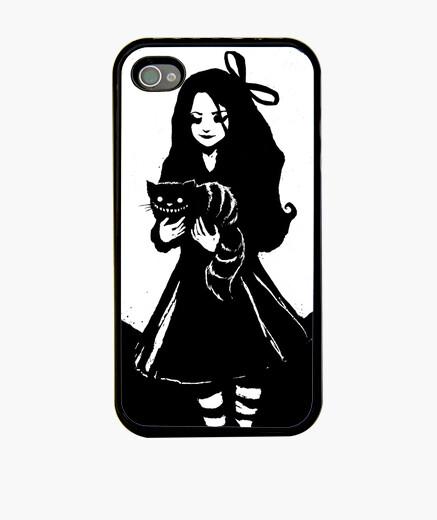 Coque iPhone dark alice