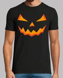 Dark Halloween Pumpkin Man