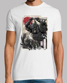 Dark Samurai Knight Shirt Mens