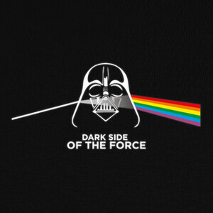 Dark side of the force T-shirts