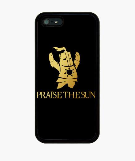 Funda iPhone Dark Souls - PRAISE THE SUN